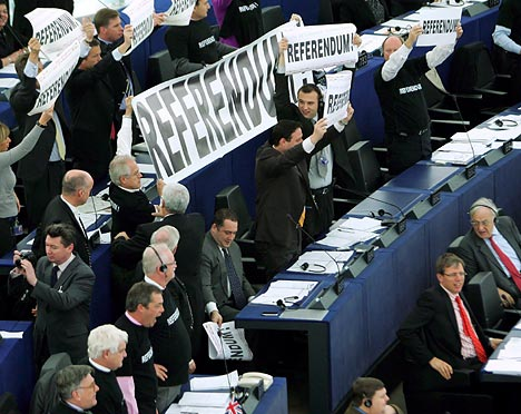 EU-protest