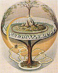 Til mange træer er der der knyttet urgammelt mytologisk indhold vi