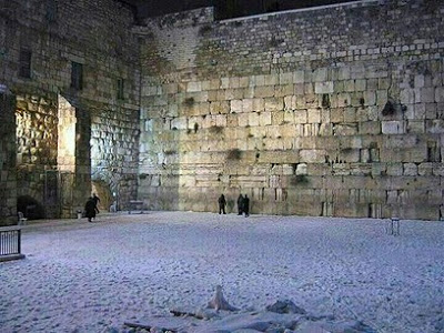 Kotel in the snow 090113