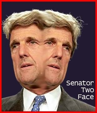 John Kerry's two faces