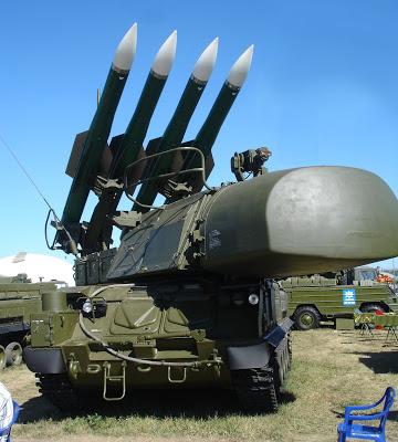 SA-17 anti-aircraft missiles