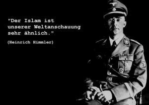 """Teksten lyder: """"Islam er meget lig vores verdenanskuelse"""""""