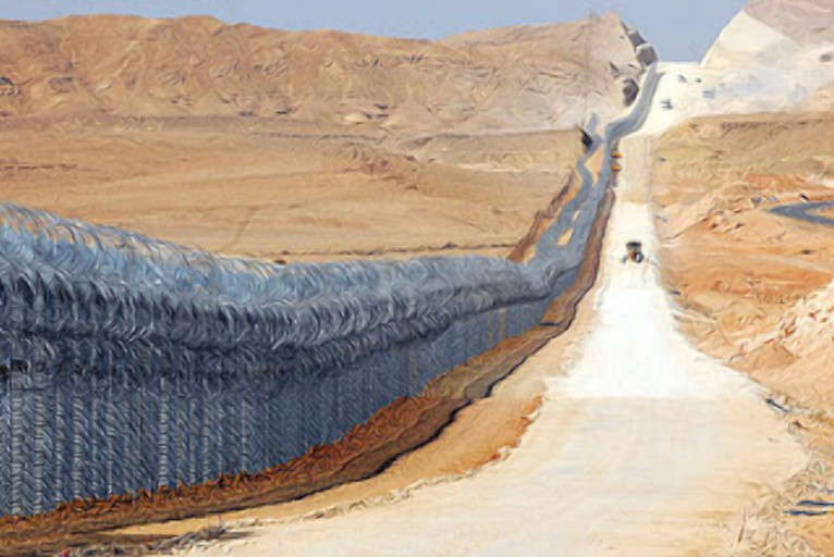 Egyptian border fence2