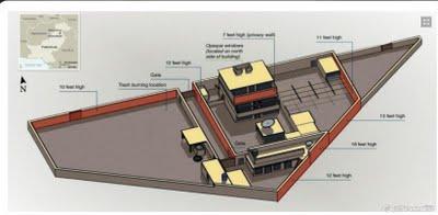 Osama Bin Laden's hideout map