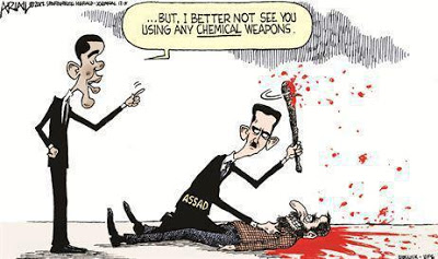 Obama warns Assad