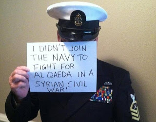 US Naval officer on Syria