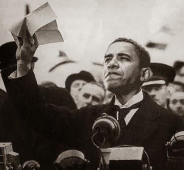 Obama as Chamberlain