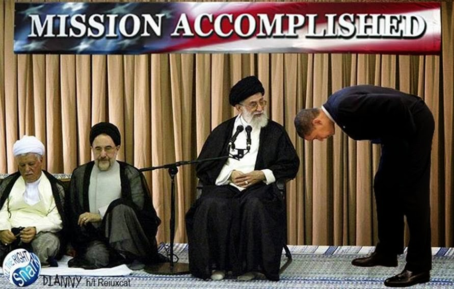 Obama's Iran mission accomplished