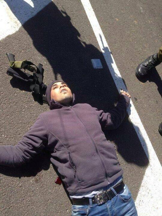 araber med maskinpistol