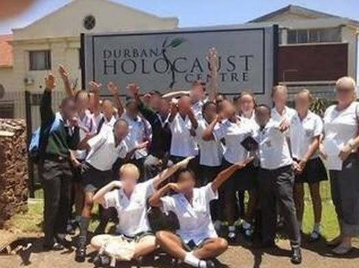 durban-holocaust-center-nazi-salutes
