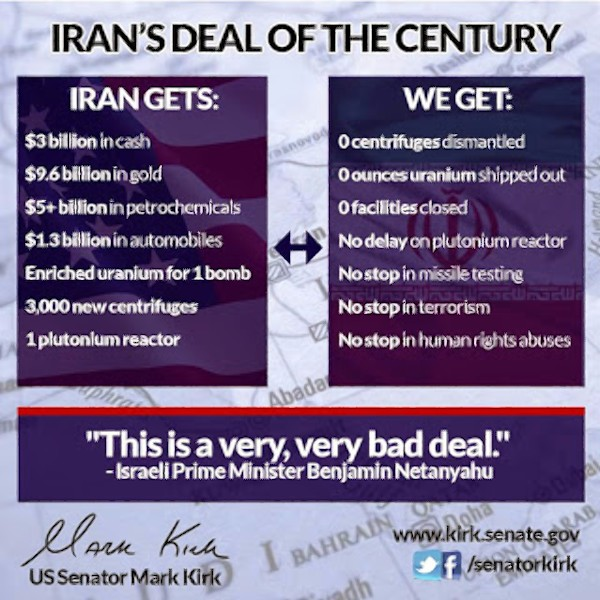 Iran's deal of the century
