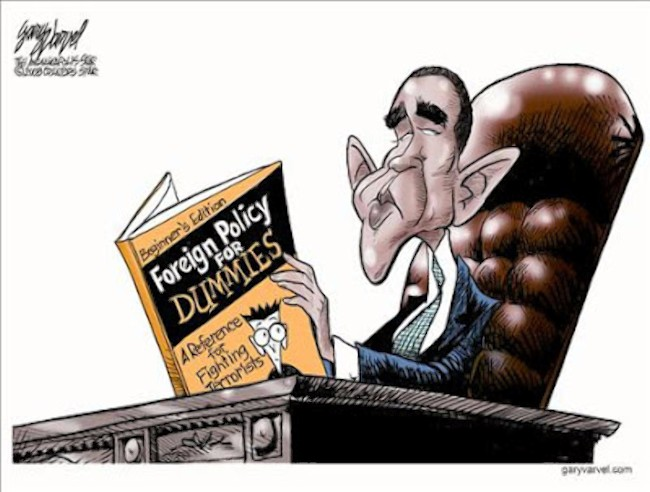 Obama Foreign Policy For Dummies