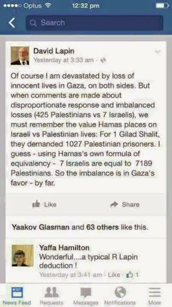 Disproportion in Gaza2