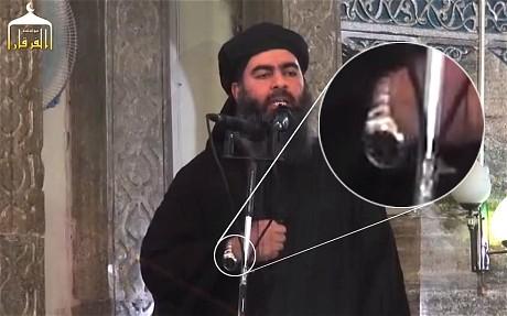 ISIS_leder bruger vestligt ur_