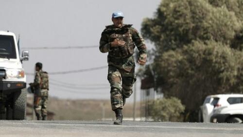 FN soldat flygterfra isis til Israel
