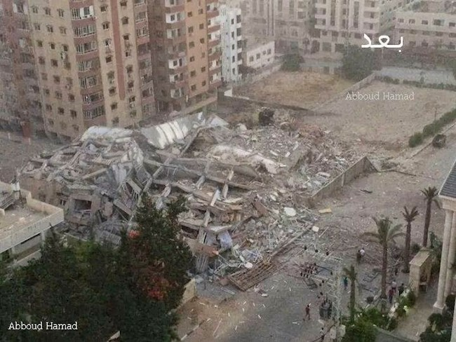 hamas hq after