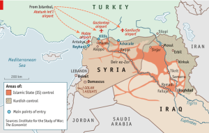 Terroristmotorvejen gennem Tyrkiet