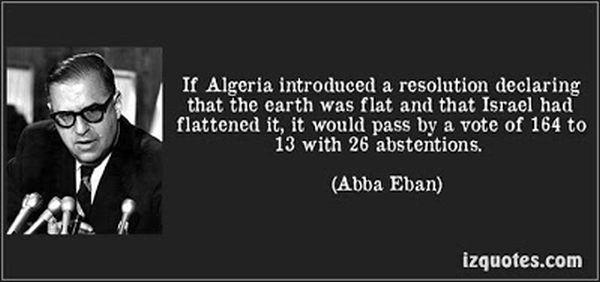 Abba Eban on the UN
