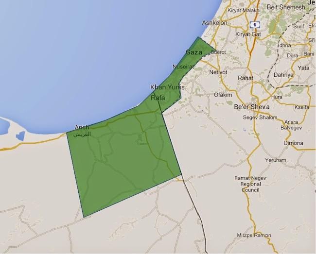 egypt offer gaza sinai