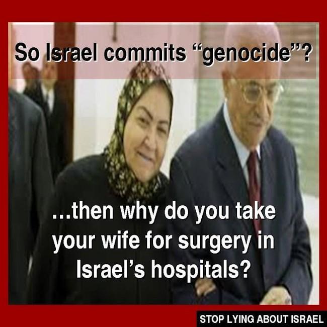 Abu Mazen's genocide lie