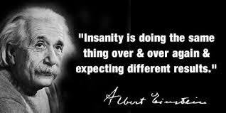 insanity einsten