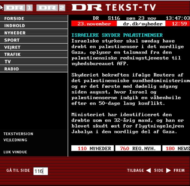 DR tekst tv