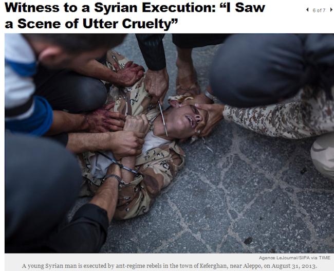 syrian-rebel-jihadis-execute-regime-soldier-by-decapitation-13.9.2013