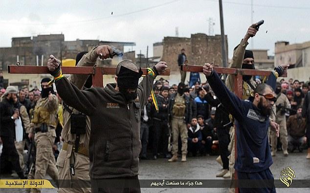 ISIS korsfæstelse