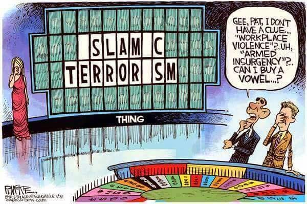Islamic terrorism on Wheel of Fortune