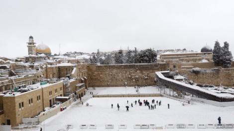 Jerusalem sne