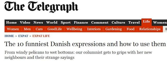 Danske ordsprog på engelsk