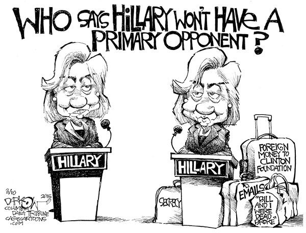 Hillary  opponent