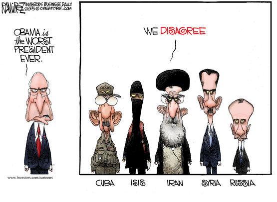 Obama værste præsident