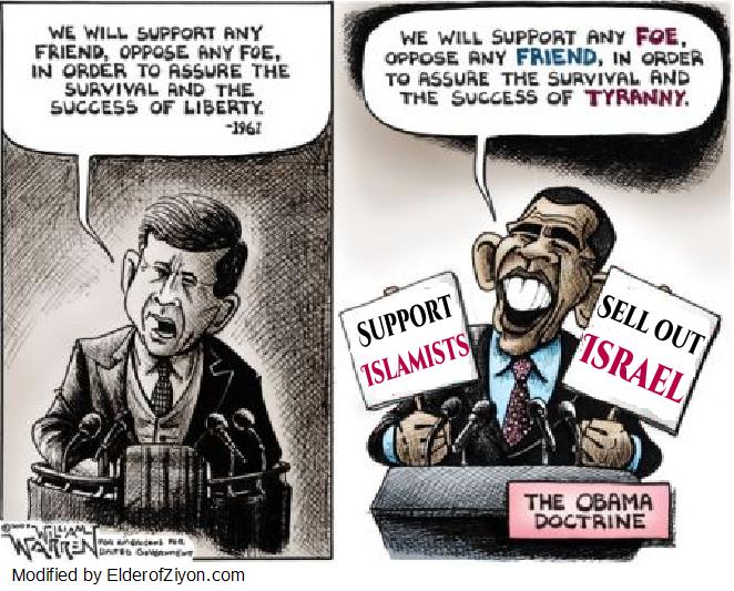 obama vs jfk