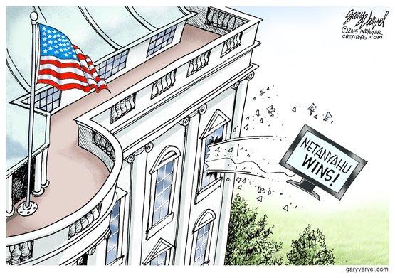 Obamas reaktion på bibis sejr