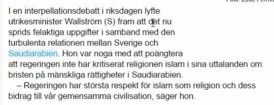 Uvidende svensker
