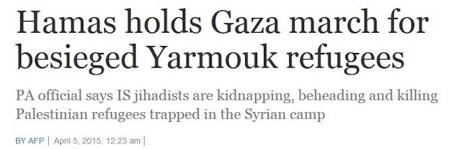 Hamas mod ISIS