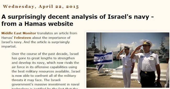 Hamas om den israelske flåde