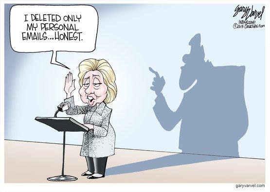 Hillary honest