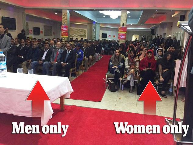 Labour gør alt for den muslimske stemme