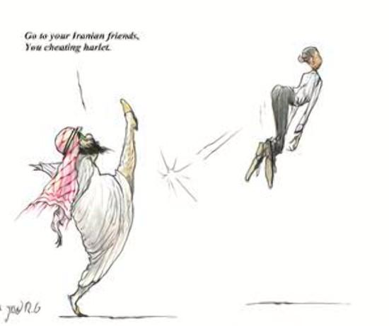 Saudis svar til Obama