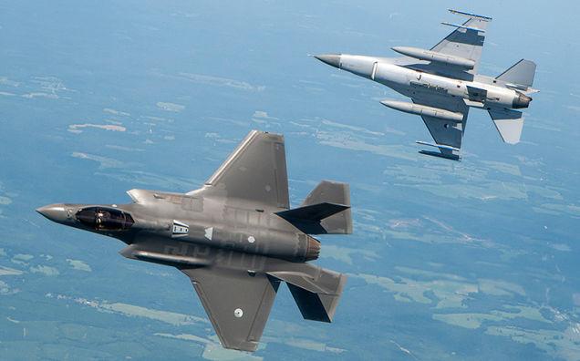 F35a vs F16