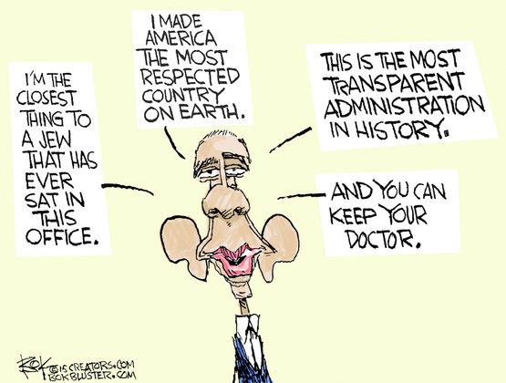 Obama løgne