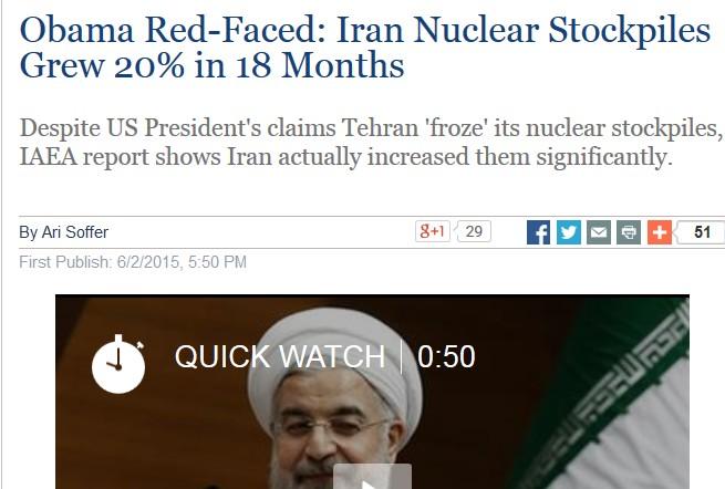 Obama og Iran afsløret
