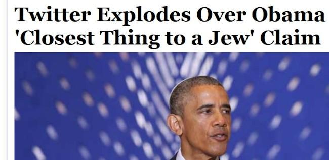 Obama som jøde