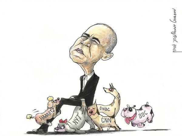 Obamas lapdogs
