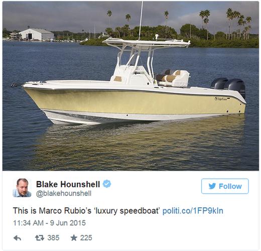 Rubios boat