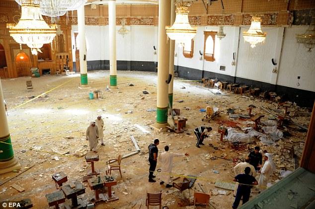 Shiite mosque kuwait