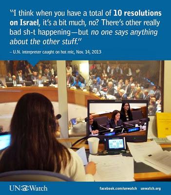 UN interpreter talks about Israel