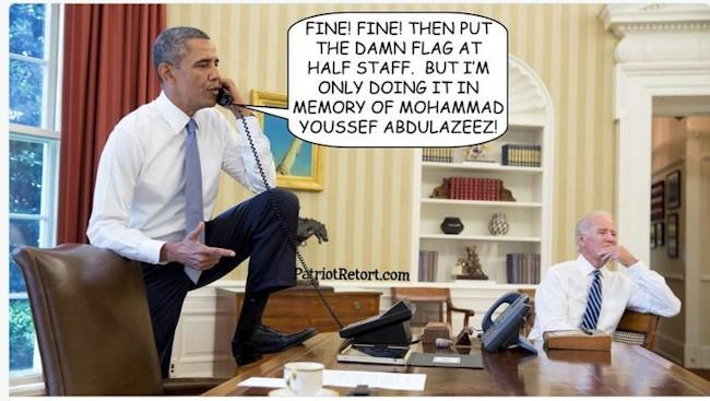 Obama og Mohammed Youssef Abdulazeez